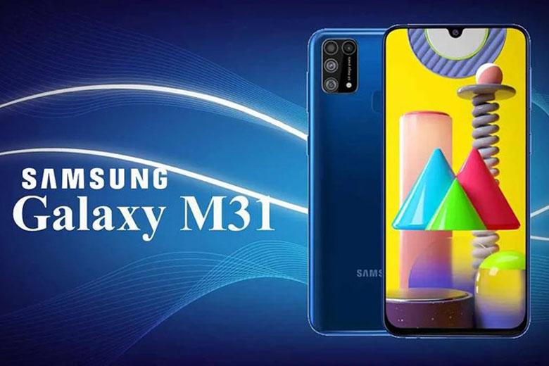 ảnh quảng cáo của Samsung Galaxy M31