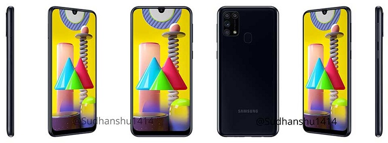 Samsung Galaxy M31 màu đen