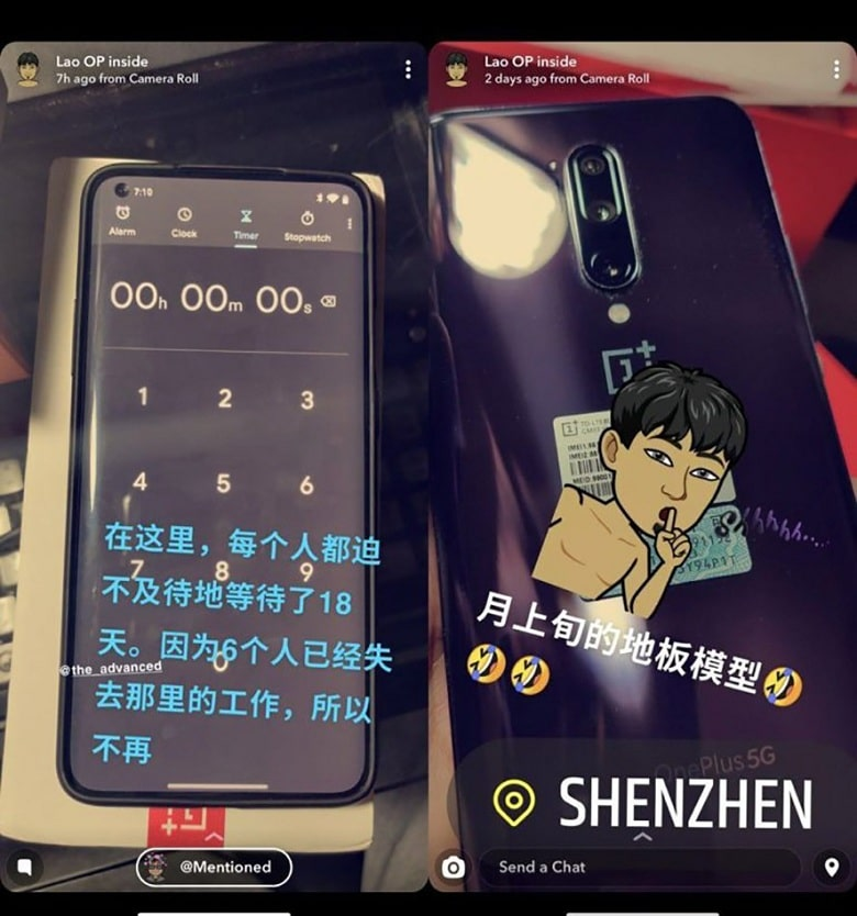 thiết kế của OnePlus 8 Pro 5G