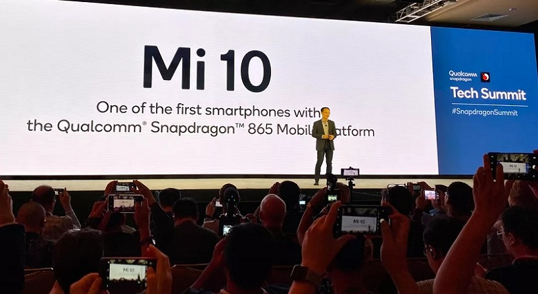 chip Snapdragon 865 trên Xiaomi Mi 10