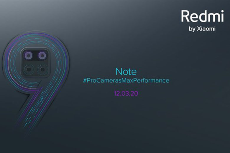 Poster Xiaomi Redmi Note 9
