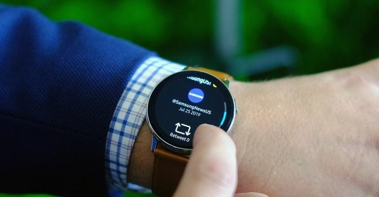 cấu hình Samsung Watch Active 2
