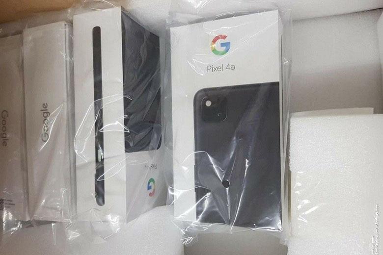 hộp đựng của Google Pixel 4a