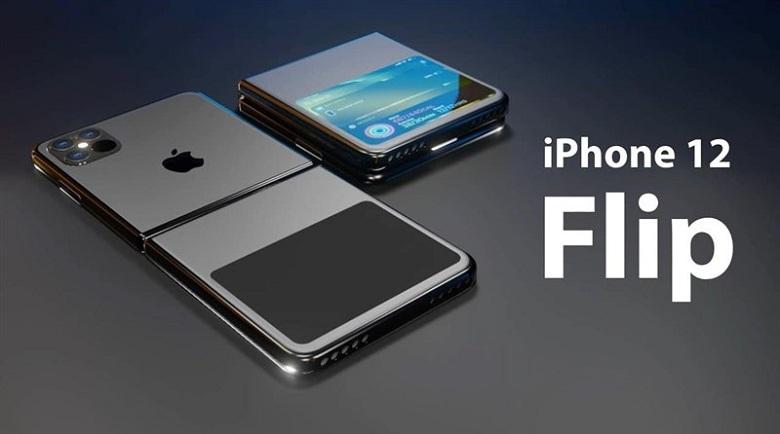 thiết kế iPhone 12 Flip