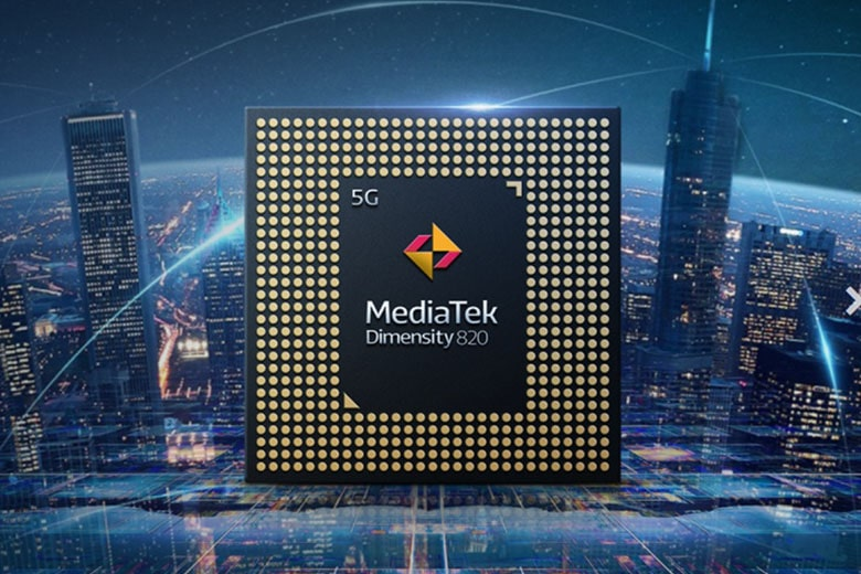 chip Dimensity 820 5G