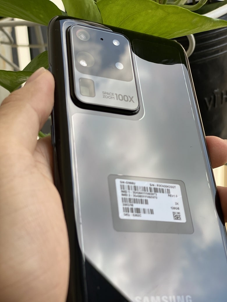 camera Samsung S20 Ultra 5G Mỹ