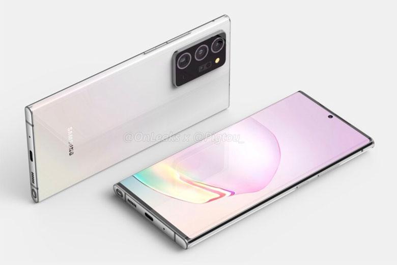 Galaxy Note 20 Plus lộ diện