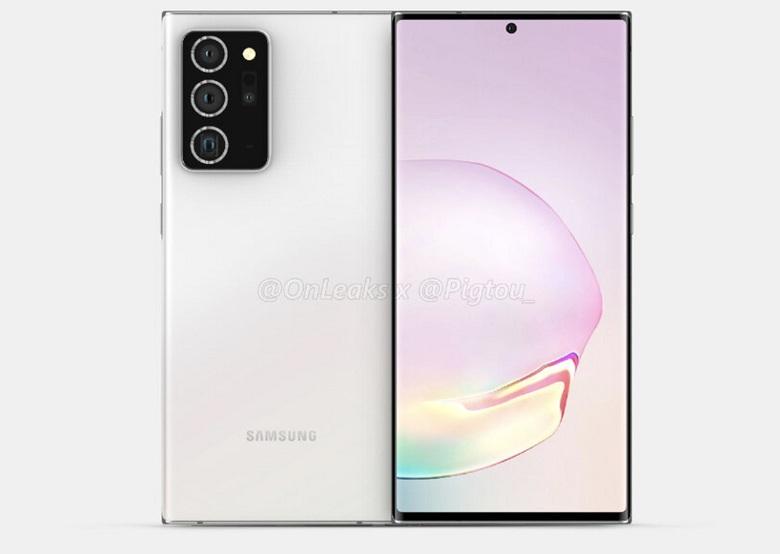 thiết kế Galaxy Note 20 Plus