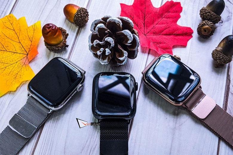 Apple Watch Series 4 bản thép