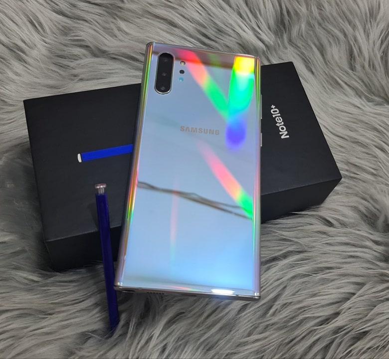 thiết kế Samsung Galaxy Note 10 Plus 256GB Công Ty (TBH)