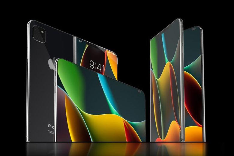 Ảnh concept tuyệt đẹp của iPhone màn hình gập
