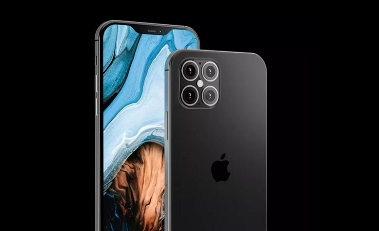 thiết kế iPhone 12