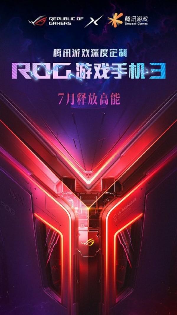 Poster quảng cáo của ROG Phone 3