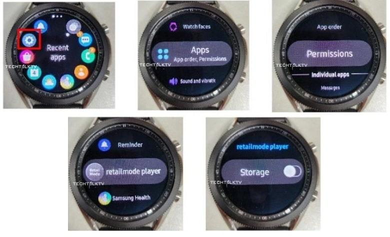 Ảnh thực tế của Galaxy Watch 3