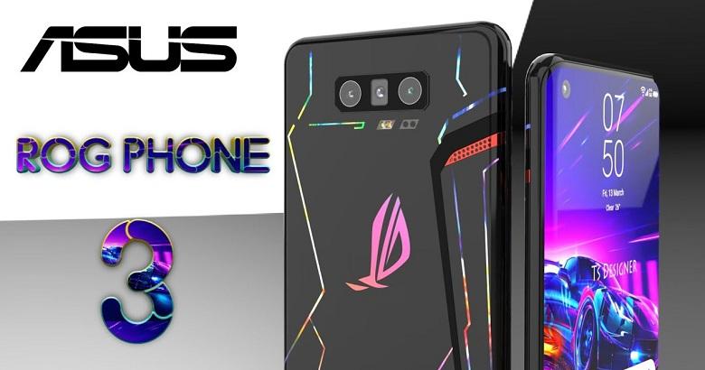 Ảnh concept của ROG Phone 3