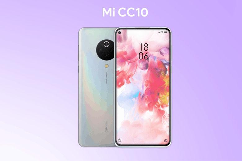 Thiết kế Xiaomi Mi CC10