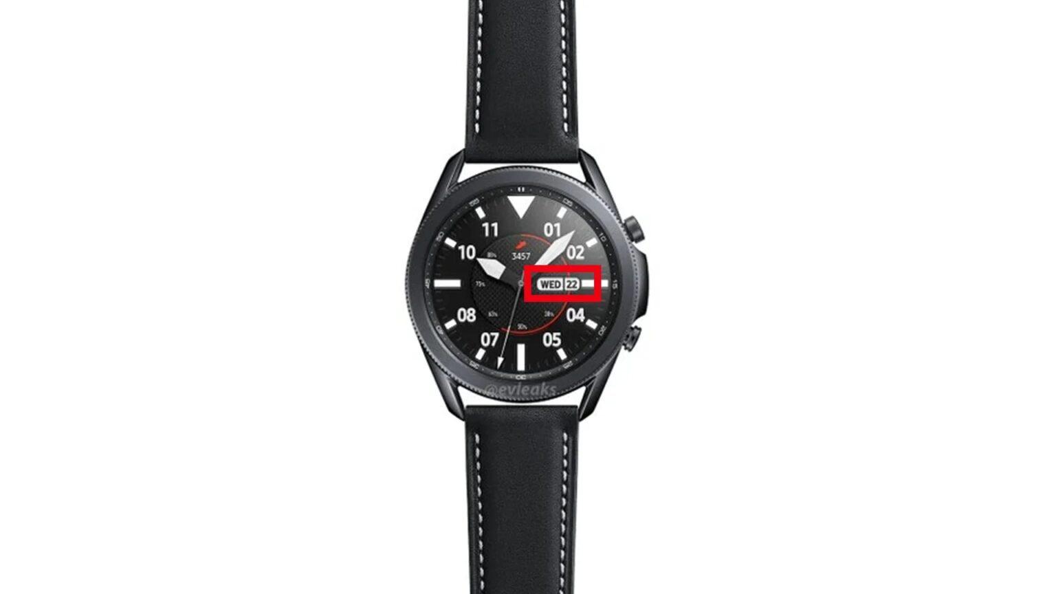 ngày ra mắt Samsung Galaxy Watch 3