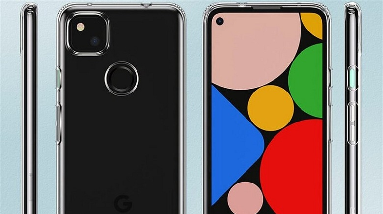 thiết kế Google Pixel 4a