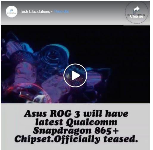 chip của ROG Phone 3