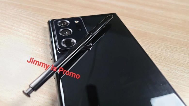 thiết kế Samsung Galaxy Note 20 Ultra