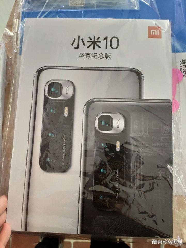 vỏ hộp Xiaomi Mi 10 Ultra