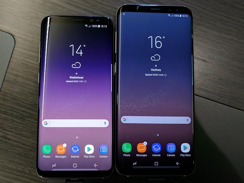Samsung Galaxy S8 và Samsung Galaxy S8 Plus
