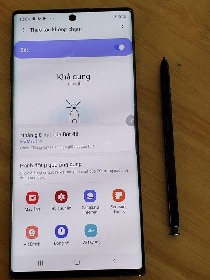 màn hình Galaxy Note 10 Plus Mỹ