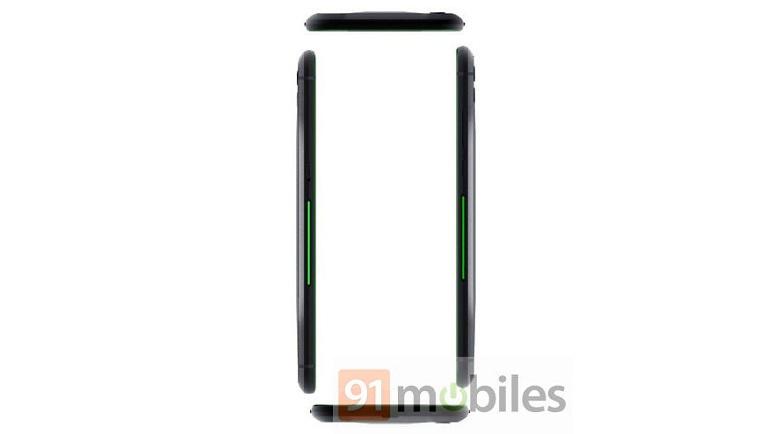 kích thước Xiaomi Black Shark Helo 2