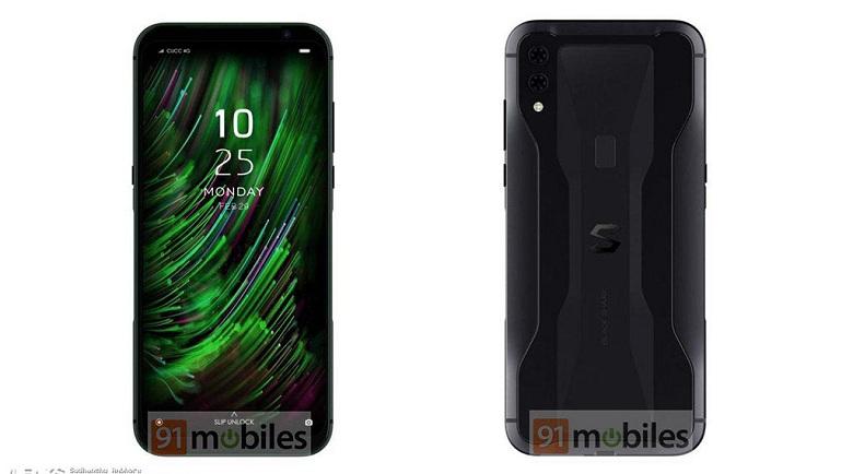 thiết kế Xiaomi Black Shark Helo 2