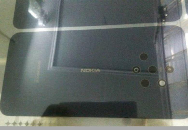 Nokia 9 rò rỉ ảnh mặt sau