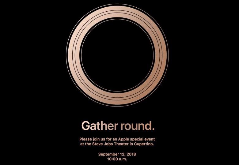 ra mắt iPhone 2018
