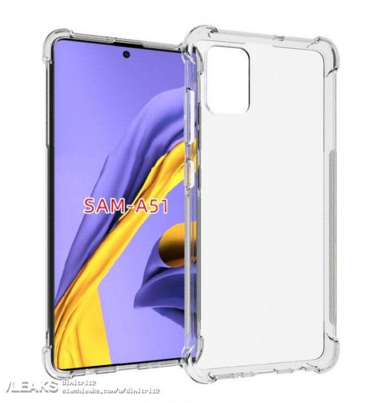 tổng thể Samsung Galaxy A51