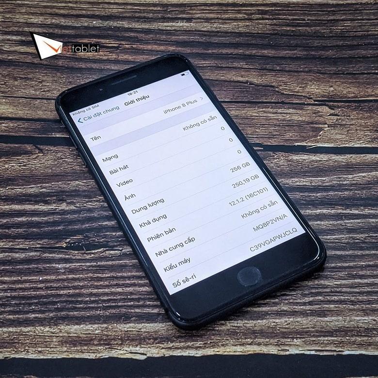 cấu hình iPhone 8 Plus 256GB