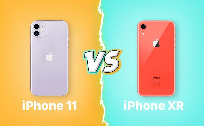 thiết kế iPhone 11 vs iPhone XR