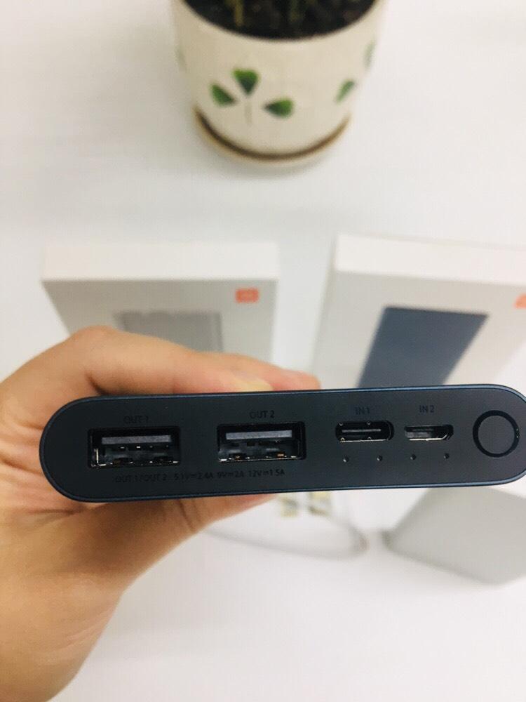 Các cống kết nối của thiết bị.