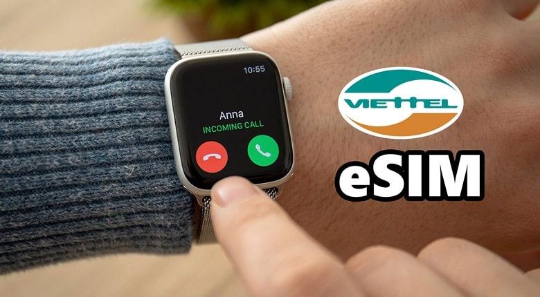 eSIM Viettel cho Apple Watch