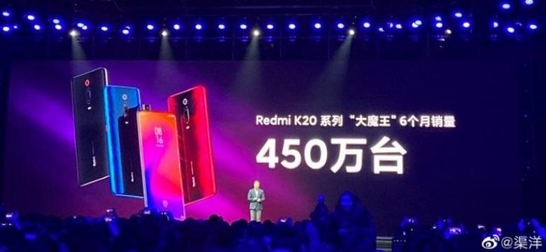 Doanh số của Redmi K20