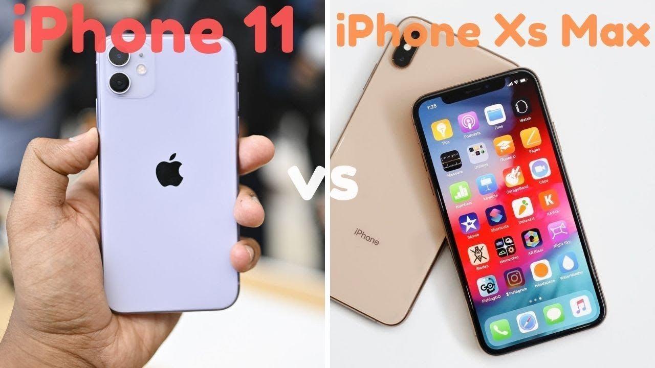 Mua iPhone 11 hay iPhone Xs Max