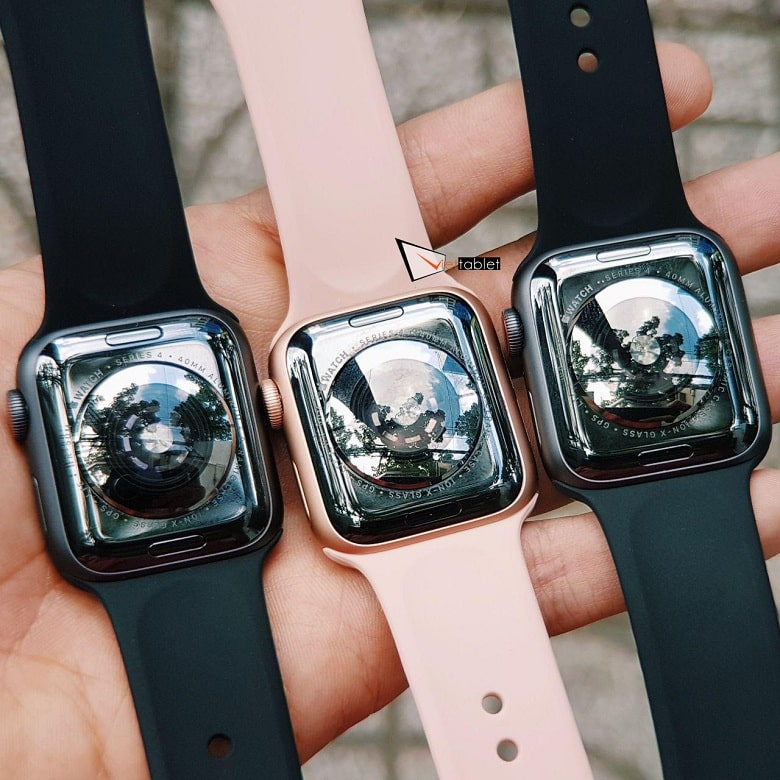 mặt sau Apple Watch S4