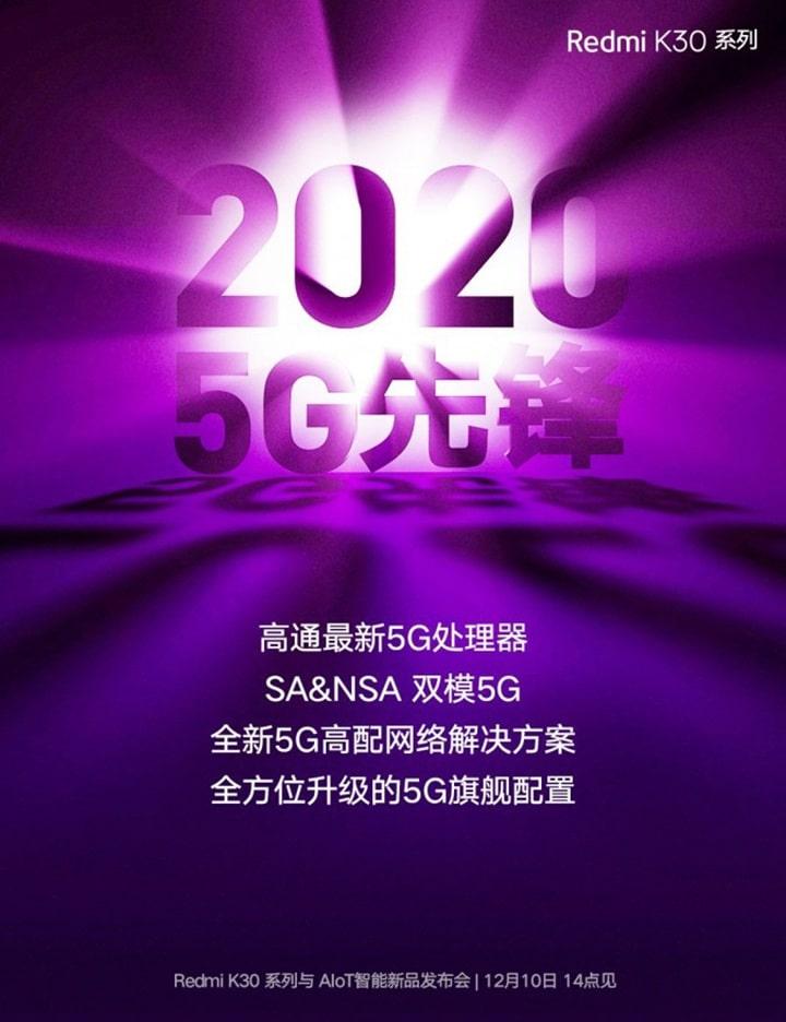 poster của Redmi K30