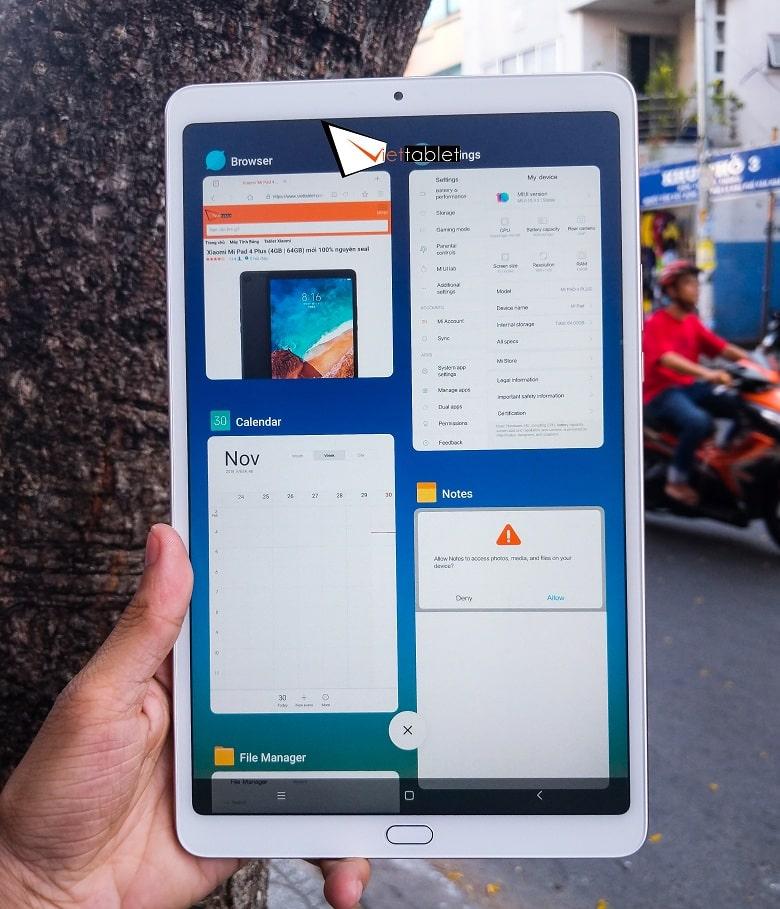 cấu hình Xiaomi Mi Pad 4 Plus