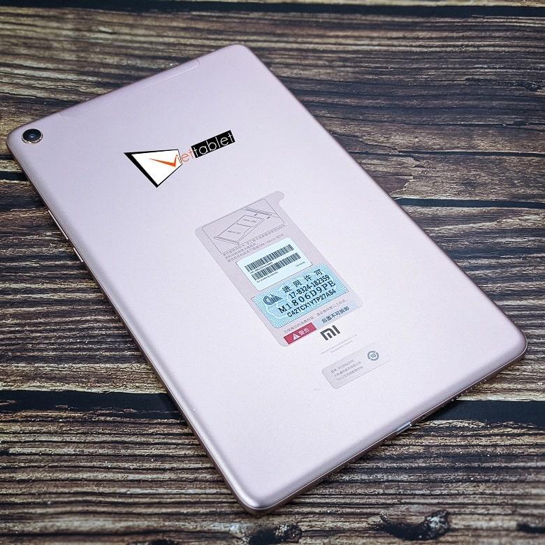 thiết kế Xiaomi Mi Pad 4 Plus
