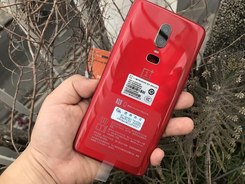 oneplus 6 màu đỏ mới