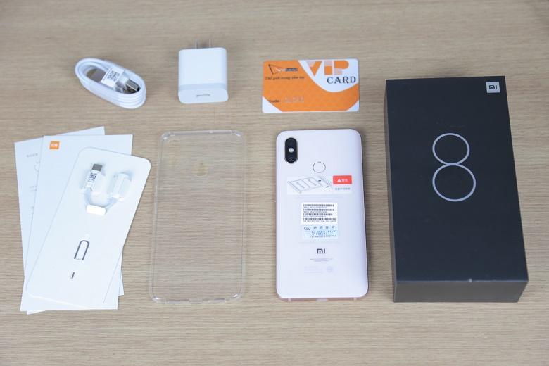 smartphone cao cấp xiaomi mi 8
