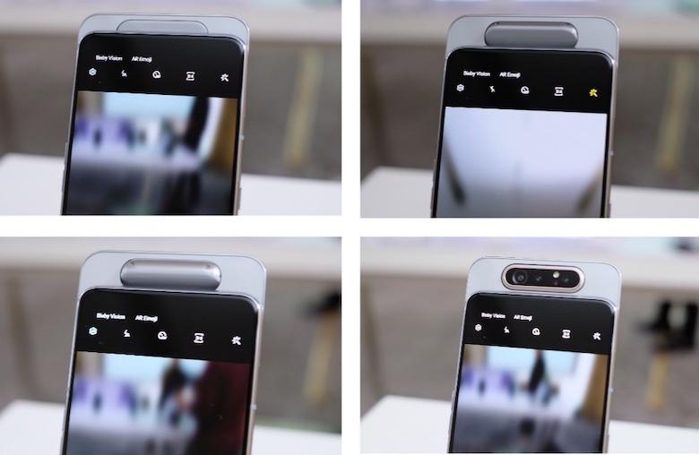 camera của samsung galaxy a80 thực tế