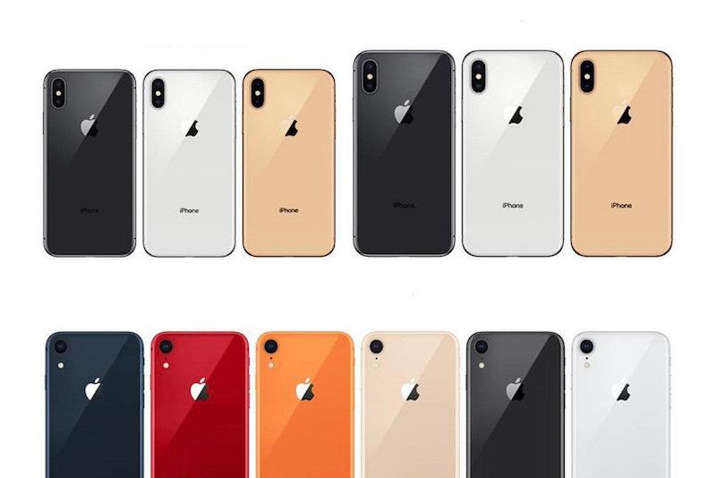 màu sắc của iphone xr