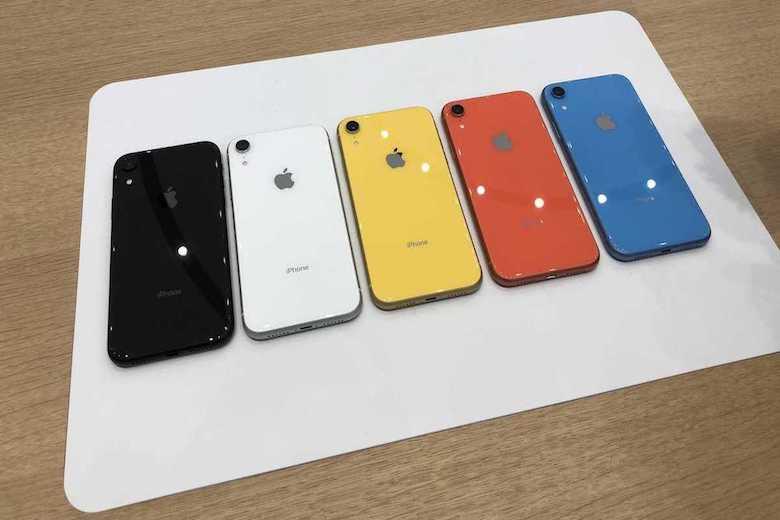 màu sắc iphone xr