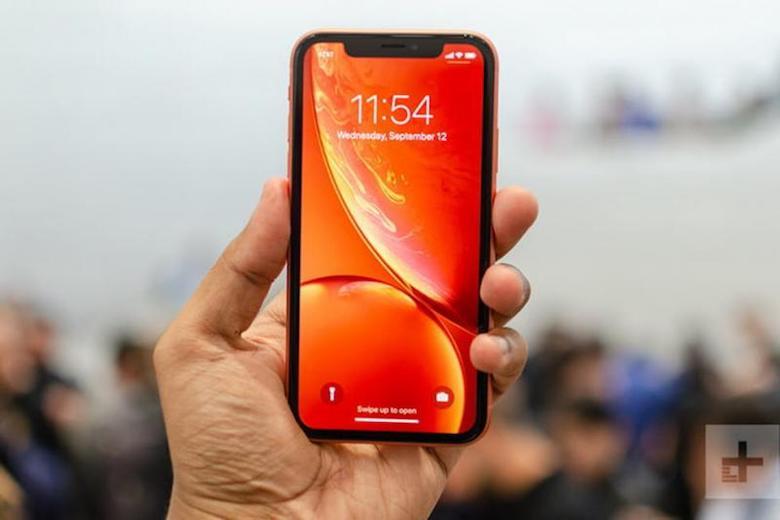 thiết kế giống iphone x của iphone xr