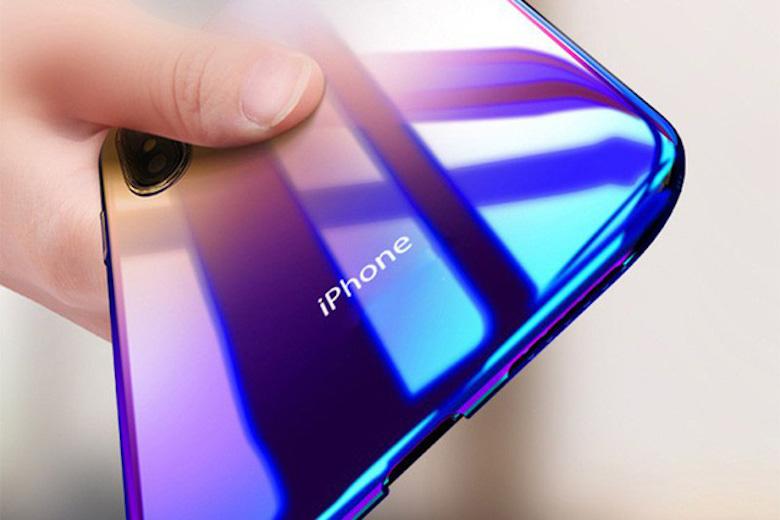 hình ảnh về chiếc iphoe với công nghệ màu granit
