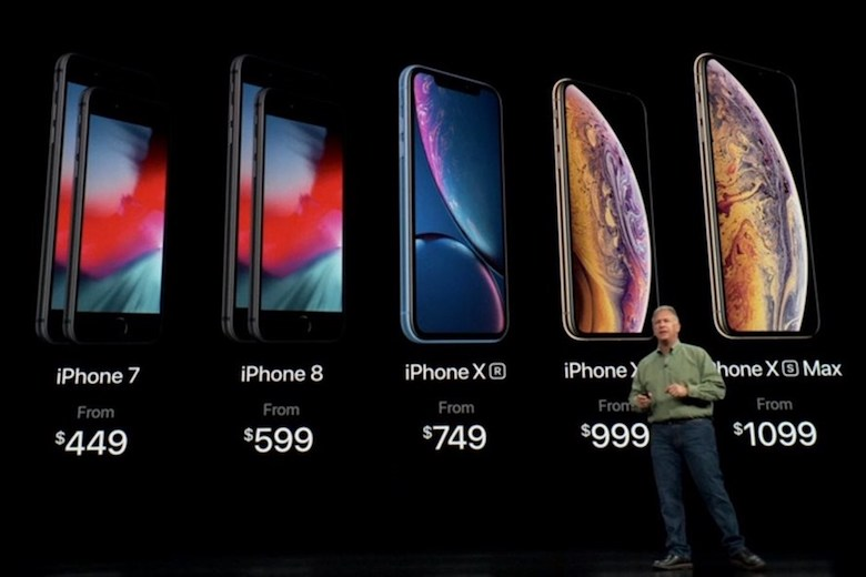 giá iphone mới